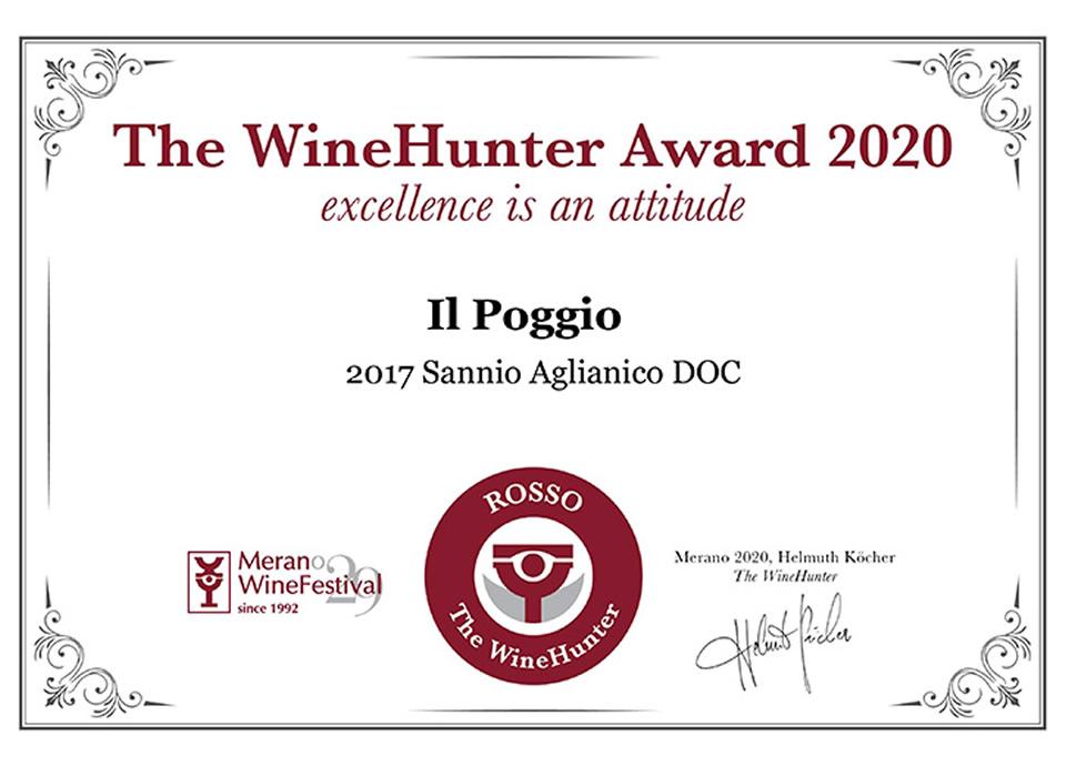 Aglianico Sannio DOP 2017 Award ROSSO (19)