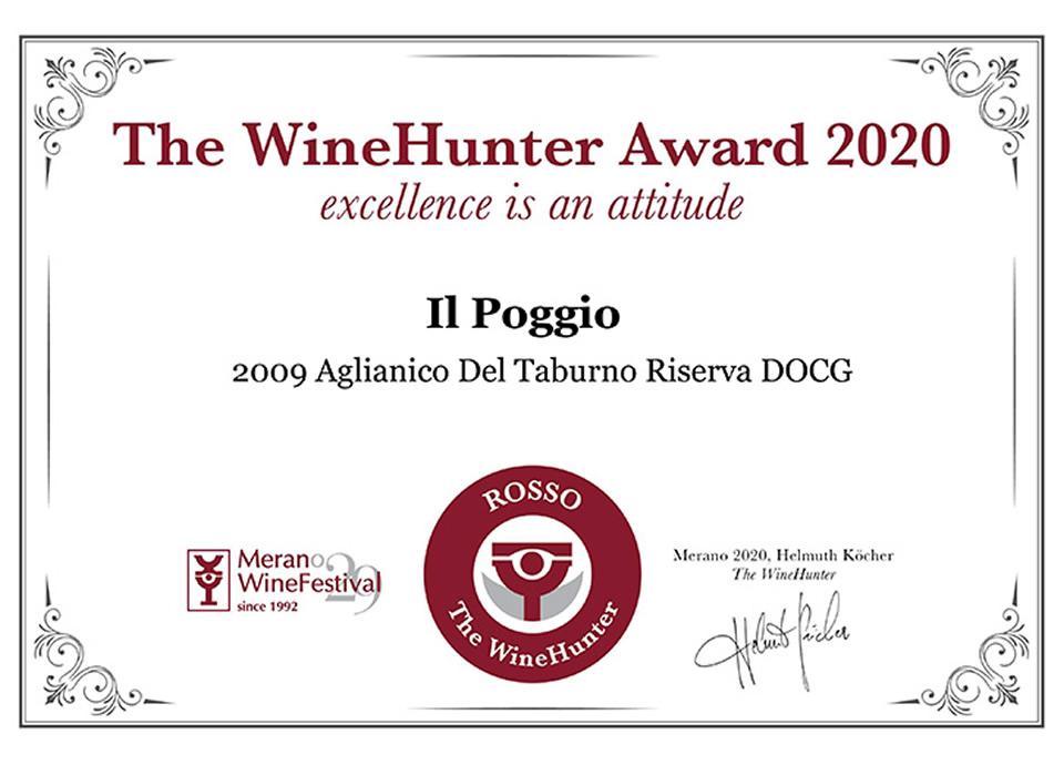 Aglianico Del Taburno Riserva DOCG 2009 Award ROSSO (19)