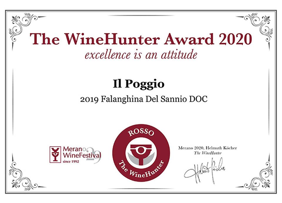 Falanghina Del Sannio DOP 2019 Award ROSSO (19)